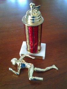 Broken-trophy