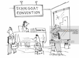 'Scapegoat Convention.'