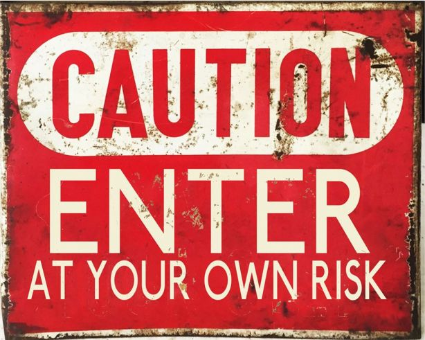 caution-enter-at-your-own-risk-metal-vintage-wall-sign-retro-art-2691-p